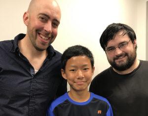 Chad, Corey, and Nayan