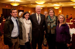 Leahy and mentors - national mentoring month in Vermont