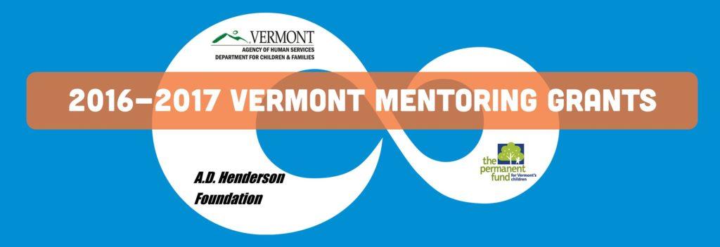 Vermont Mentoring Grants 2016-2017