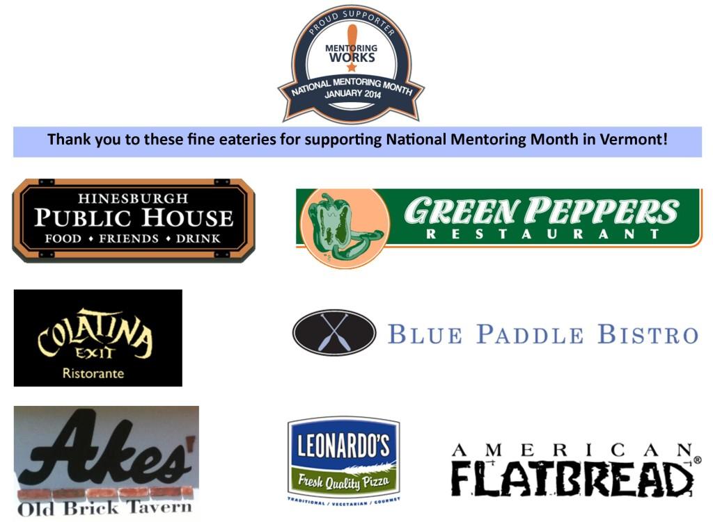 restaurant banner national mentoring month sponsors