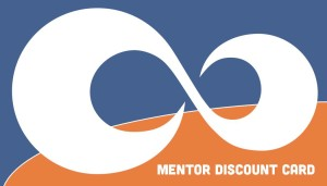 Mobius Mentor Discount Card Front