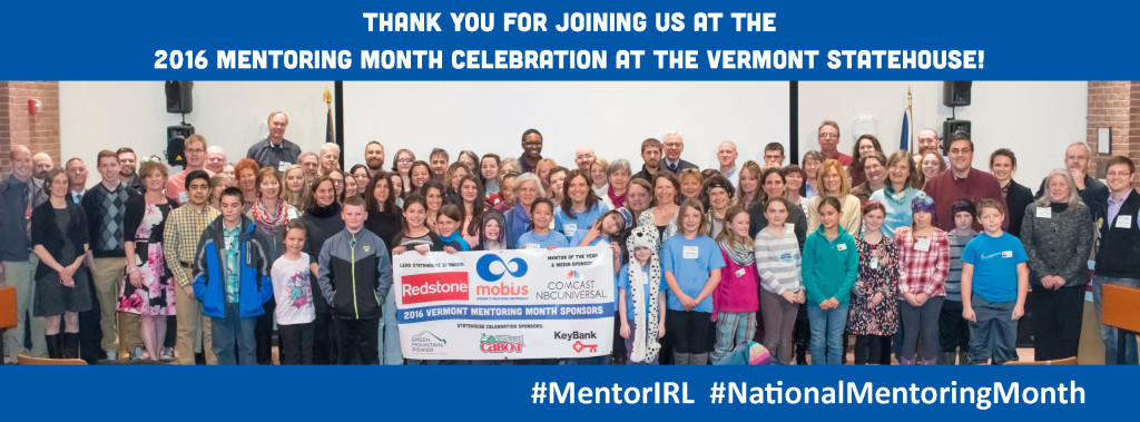 Mentoring Month Vermont 2016