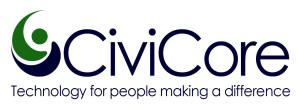 CiviCore Logo with tagline