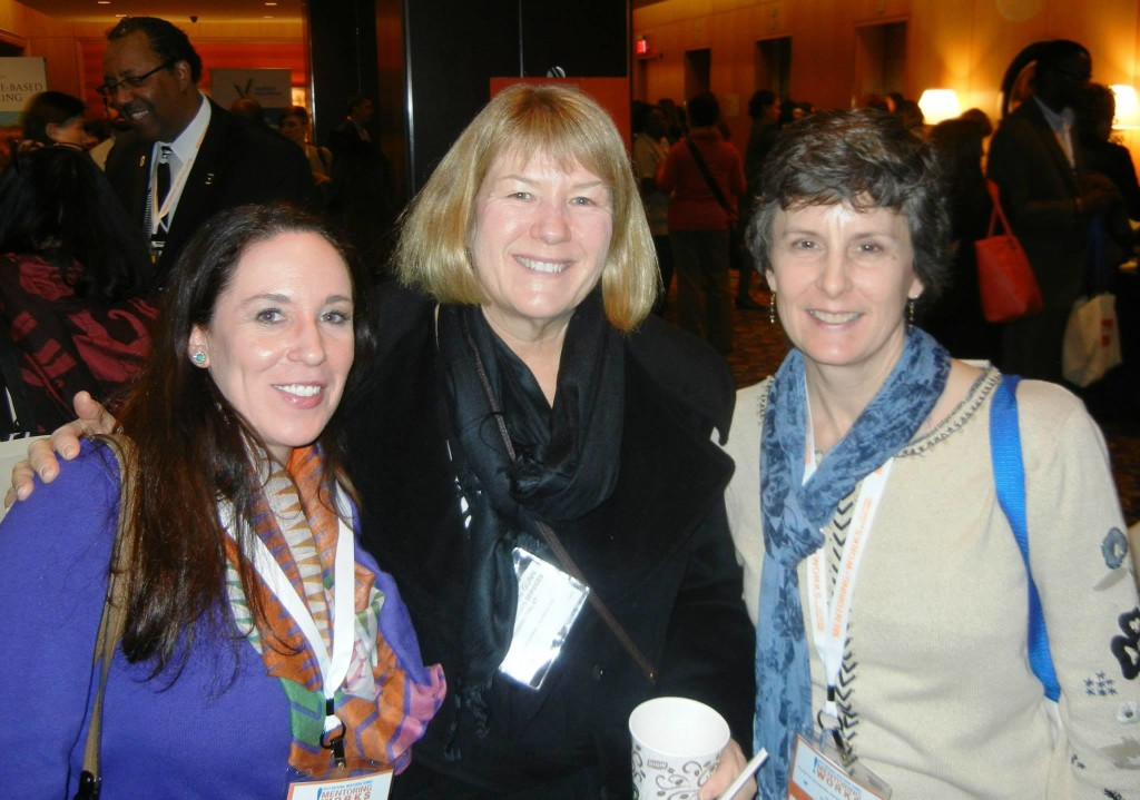 Kara Reimann, Sue Pierce, and Betsy Rathbun-Gunn from Big Brothers Big Sisters of Bennington County.