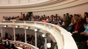 Mentoring Programs in House of Representatives Balcony