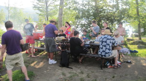 July 28 Barbecue group pic Twinfield Together Mentoring