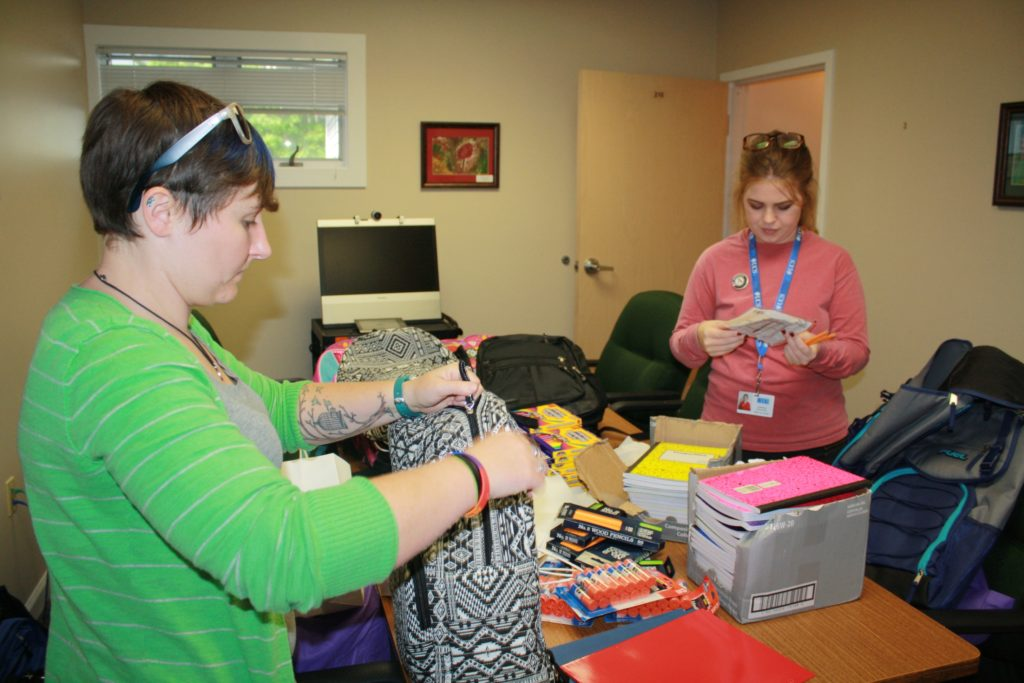 Backpacks for Bigs and Littles - Bennington County Big Brothers Big Sisters
