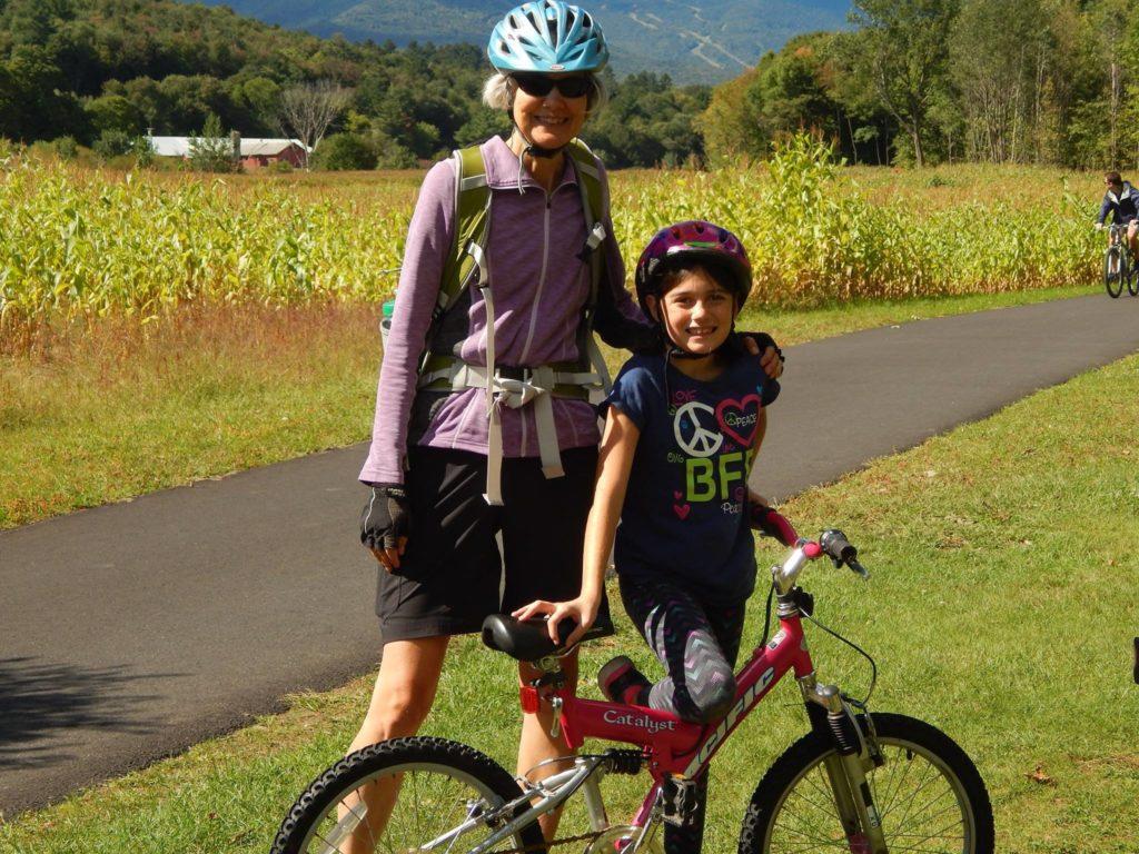 Girls Boyz First Mentor Pair - Stowe Bike Path 2016