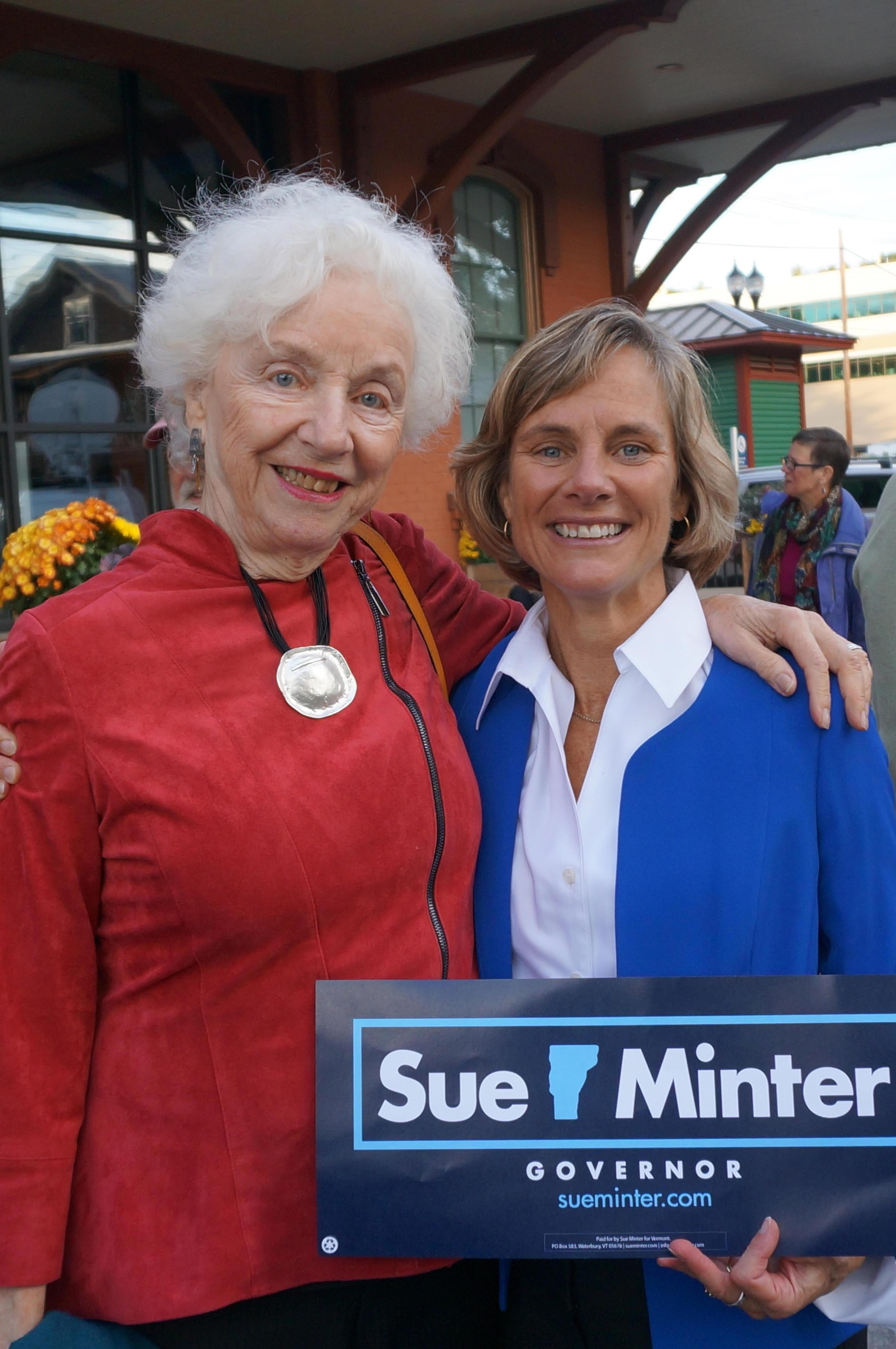 Sue Minter - Democratic Nominee for Governor of Vermont