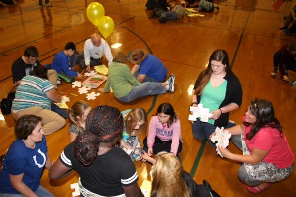 2016 Kickoff Dinner for Connecting Youth Mentoring at Williston Central School