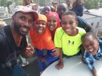 Rajnii with king st center teens